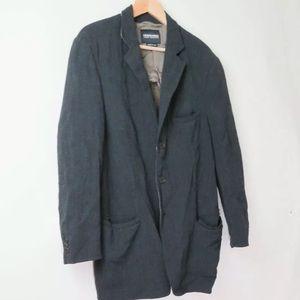 Giorgio Armani Black Label wool viscose knit